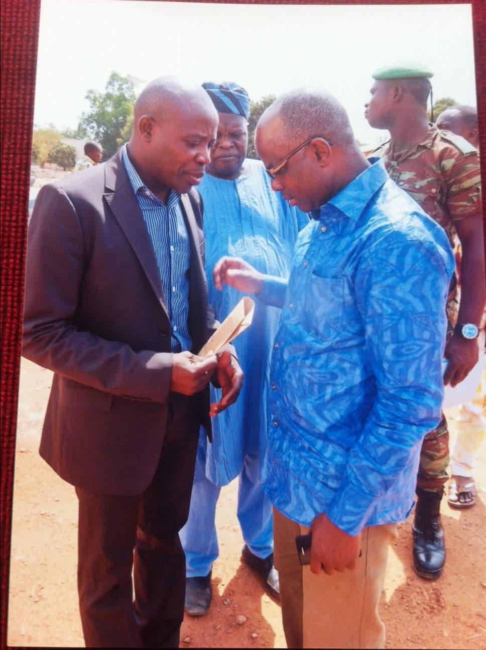Rencontre avec le ministre Aboubacar Yaya