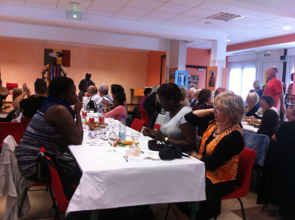 Organisation de la soirée caritative