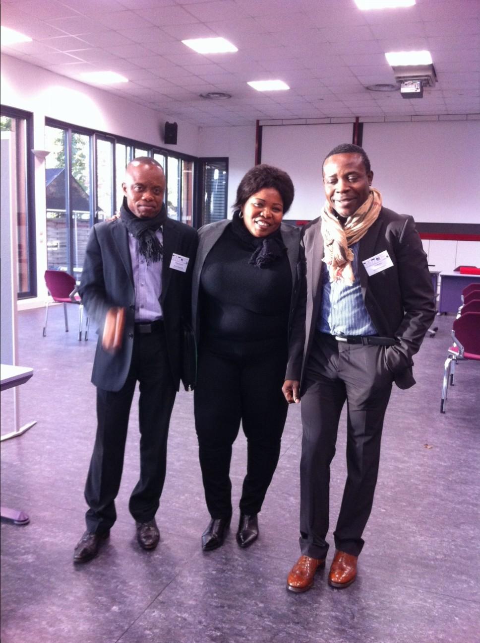 Organisation et participation à la séance de travail avec des étudiants de différentes universités à Strasbourg