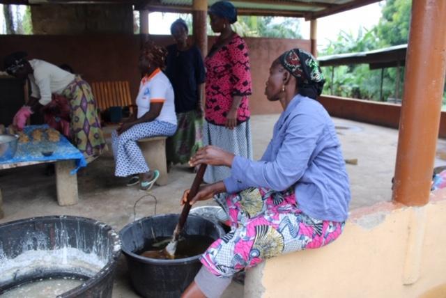 Fabrication du savon local