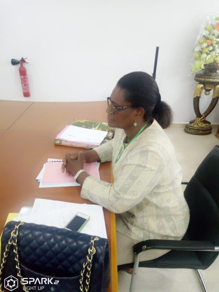 Seance de travail avec les autorites de la commune de Port-Bouët